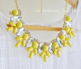 Lemon Yellow Jewel C..
